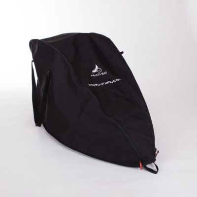 feather travel bag